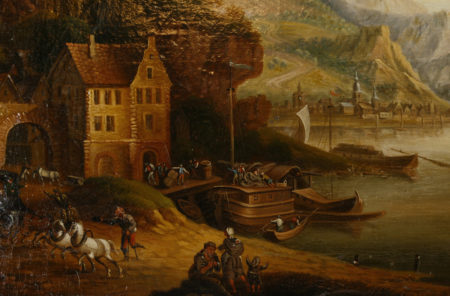 Gemälde, 18. Jhdt., Umkreis Christian Schütz
