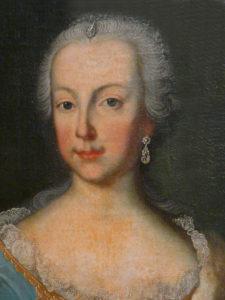 Maria Anna, Kurfürstin on Bayern, um 1755