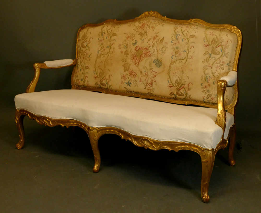 barock sitzbank s ddeutsch mitte 18 jhdt ba 21 antiquit ten am alten hof. Black Bedroom Furniture Sets. Home Design Ideas