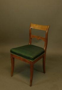 Paar Biedermeier-Stühle, um 1820/25