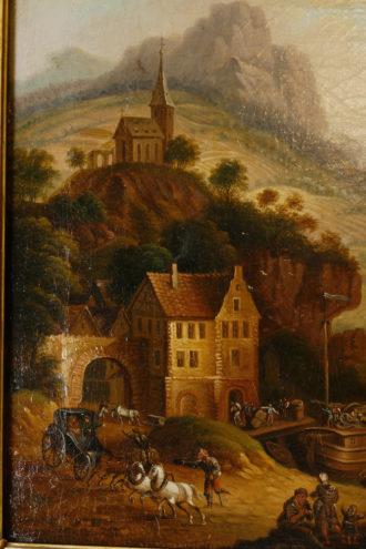 Gemälde, 18. Jhdt, Umkreis Schütz