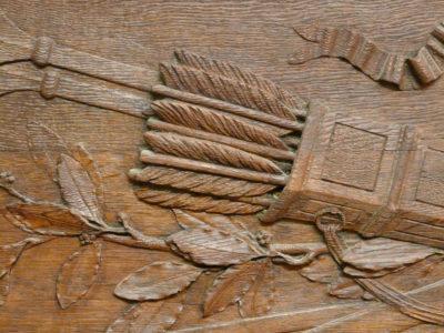 Panel, 18. Jahrhundert