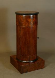 Trommelschränkchen, Biedermeier, um 1820