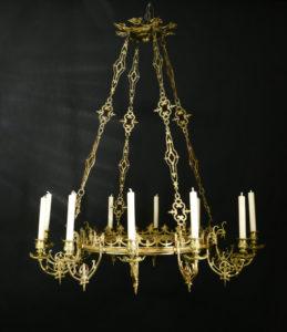 Deckenkrone, um 1800