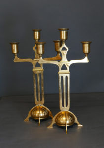 Leuchterpaar, 20er Jahre