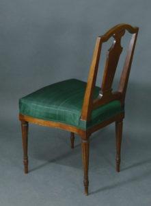 Satz von 4 Louis Seize-Stühlen, um 1780/90