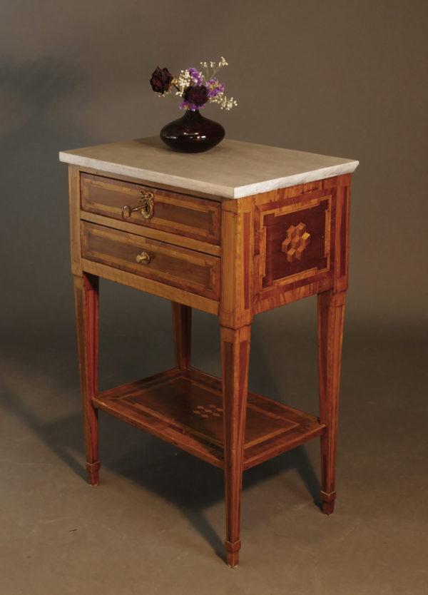 Louis Seize-Tischchen, Frankreich, um 1780