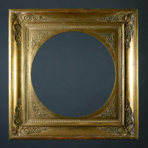 Klassizistischer Rahmen, um 1800/10
