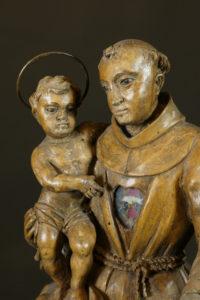 Heiliger Antonius, süddeutsch, Mitte 18. Jhdt.