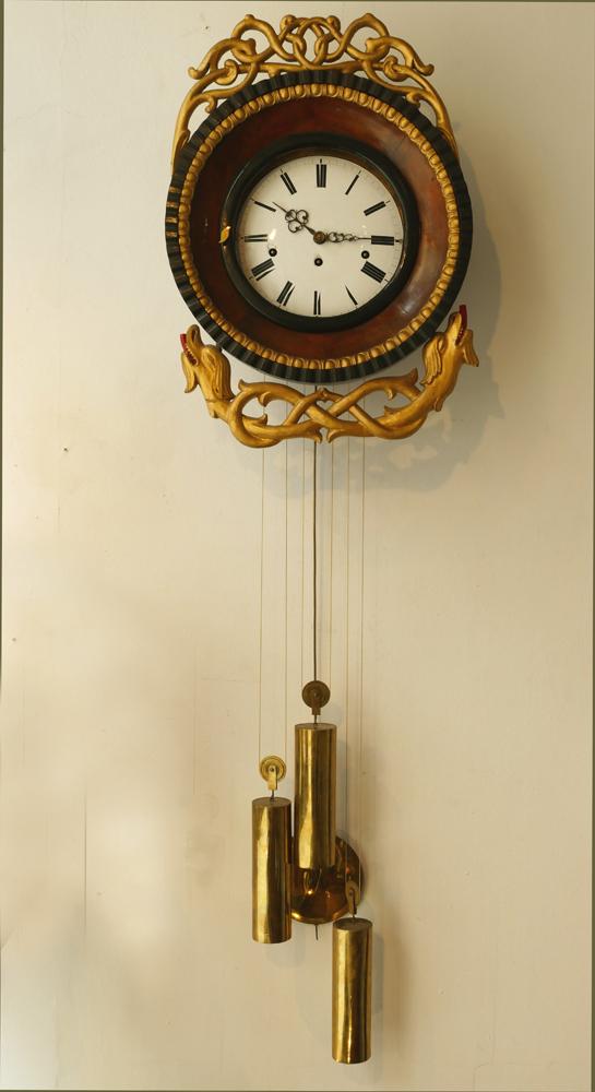Wanduhr, süddeutsch, Ende 18. Jahrhundert